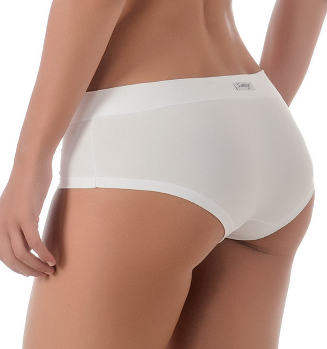 Bavlněné kalhotky M1805 bílé - S