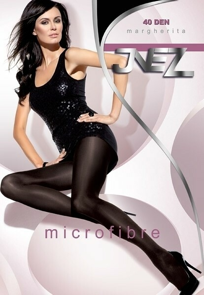 Punčochové kalhoty Inez Margherita mikrovlákno 40 den - 5-XXL - béžová