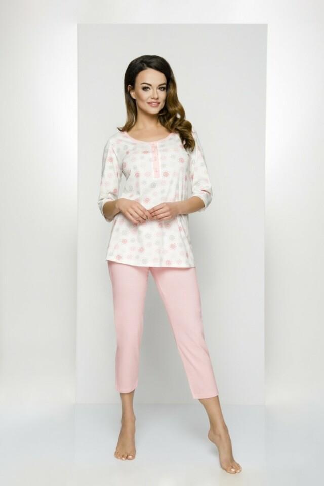 Dámské pyžamo 841 - Regina - XXL - modrá