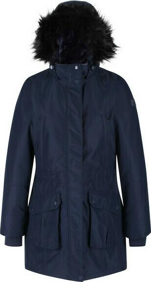 Dámský zimní kabát Regatta RWP298 Sefarina 540 tmavě modrý - 36 - Modrá