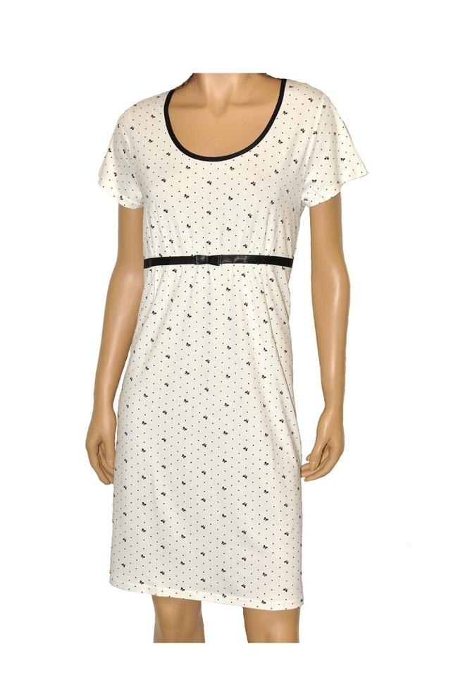 Dámská noční košilka JULIETTE 365 - DE LAFENSE - růžová - M