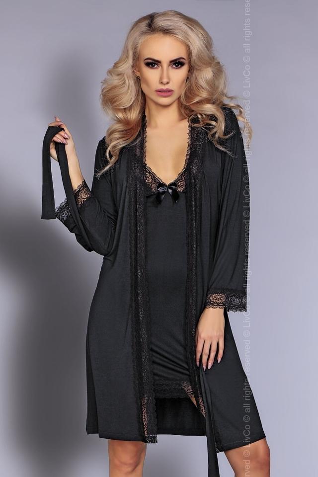Dámská souprava Luisanna - S/M - černá