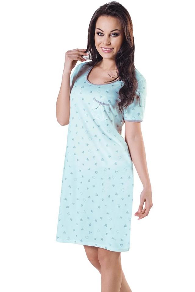 Dámská noční košile Italian Fashion Sana kr.r. - L - růžová