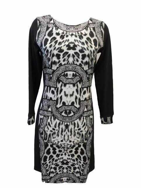 Šaty Zenta šat - Favab - M - černo-šedá