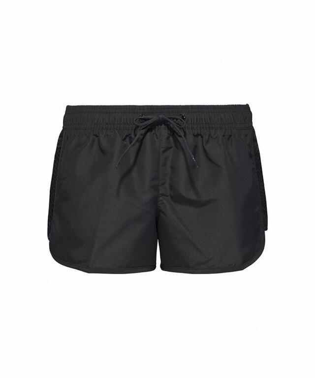 Dámské plážové šortky KW0KW00351-001 černá - Calvin Klein