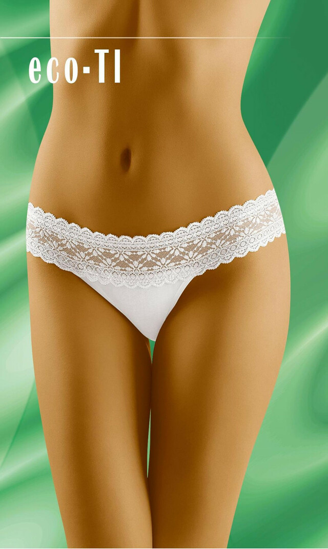 Kalhotky Wolbar eco-TI - L - bílá
