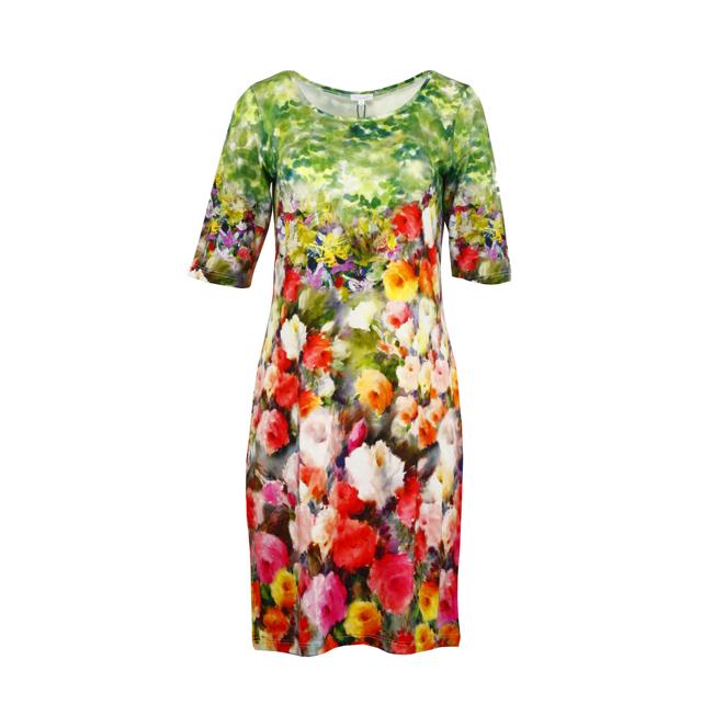 Dámské šaty Temper vype šat 2/4 - Favab - XL - květinový print