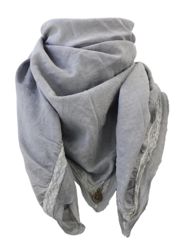 Šátek 11A013 - Rich Royal - univerzální - šedá