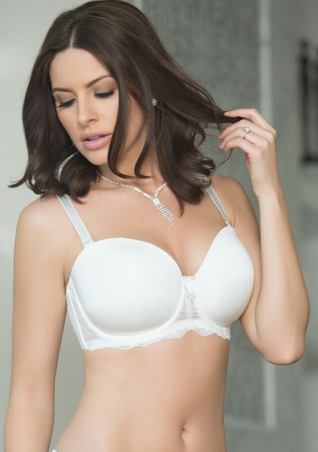 Dámská podprsenka Parfait P5011 Elissa 30 D Bílá perla - 44 E - Bílá perla