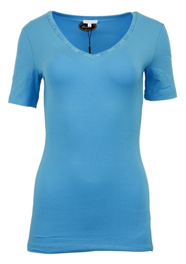 Dámské tričko Lacik KR - Favab - L - tyrkys