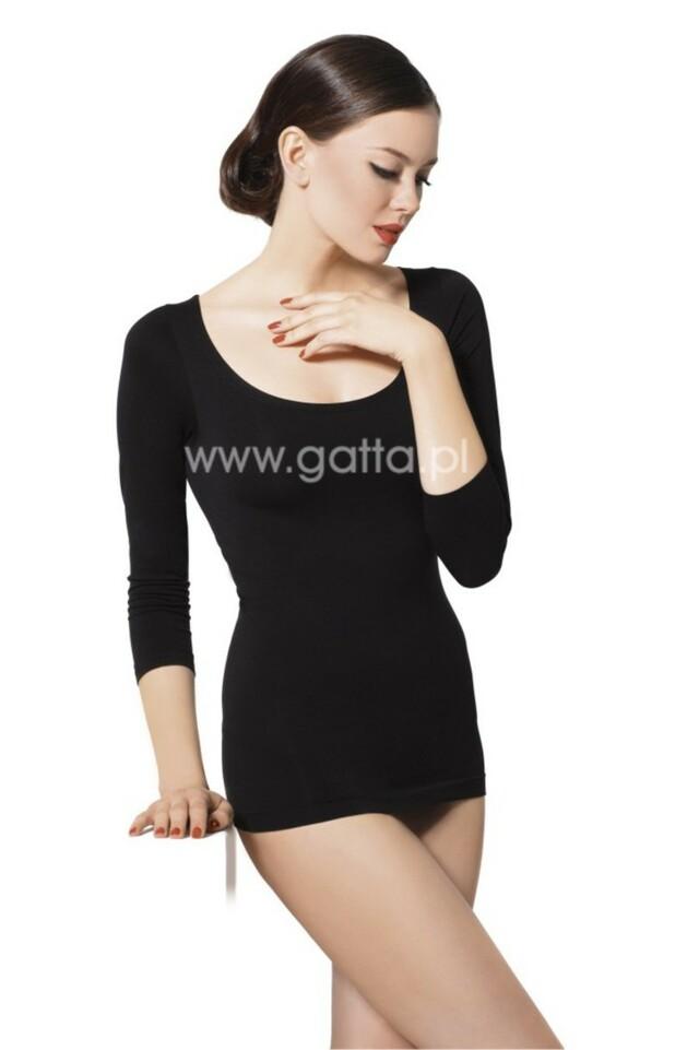 Dámské T-Shirt Perfect - GATTA BODYWEAR - L - černá