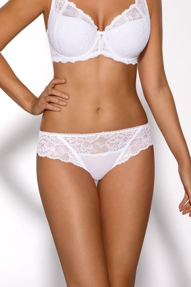 Dámské kalhotky 1559 - XL - bílá