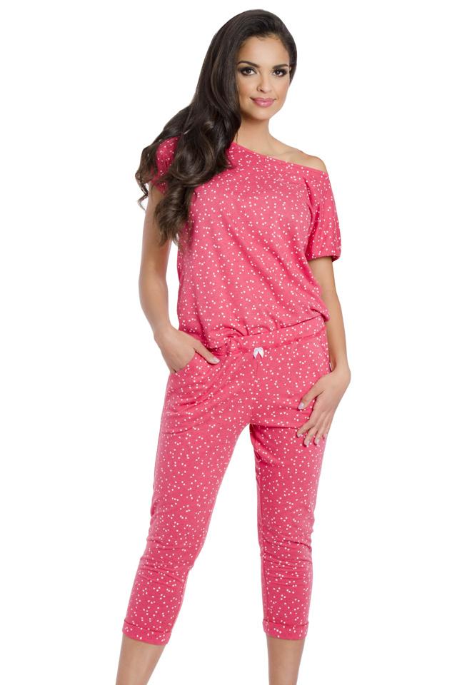 Dámské pyžamo Inka malinové - L