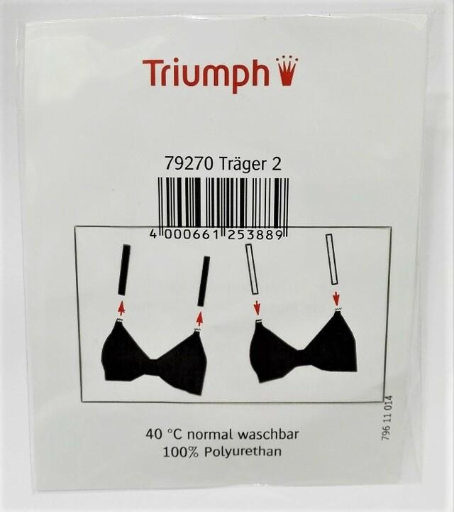 Silikonové ramínka Ersatztraeger Transparent 79270 X - Triumph