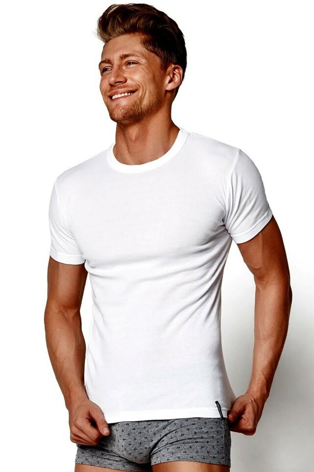 Pánské tričko 1495 white