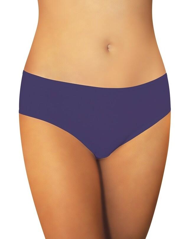 Hladké dámské kalhotky Funny Day Nikola MIDI A'2 - XL - tmavě modrá