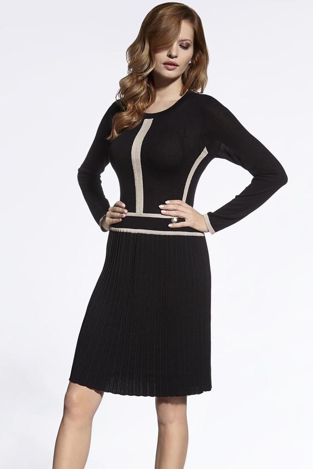 Dámské šaty Enny 200009 - 40 - černá
