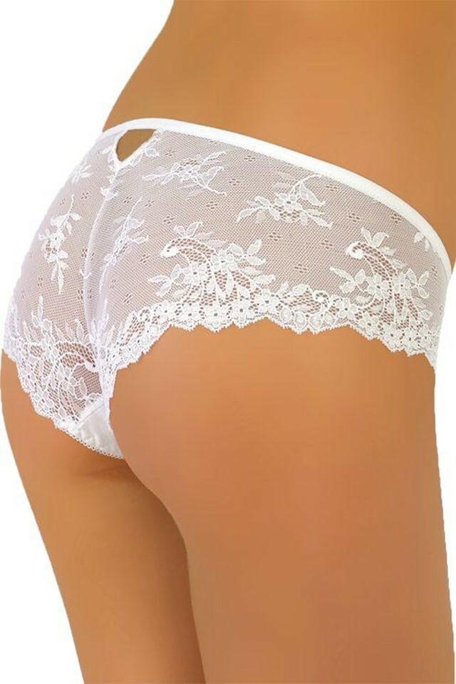 Dámské kalhotky 66 white - M - bílá