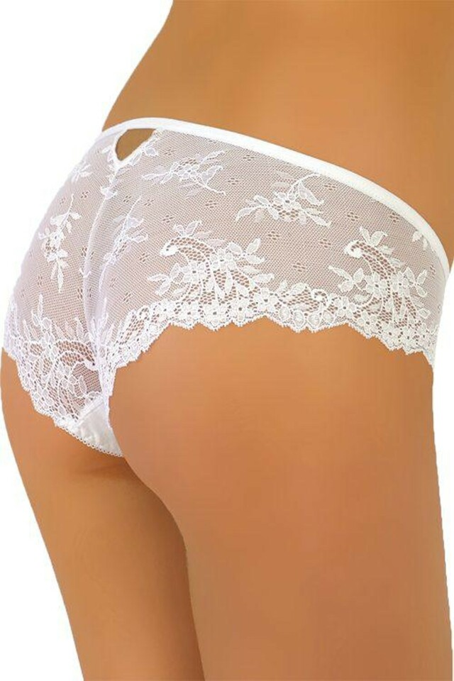 Dámské kalhotky 66 white - S - bílá