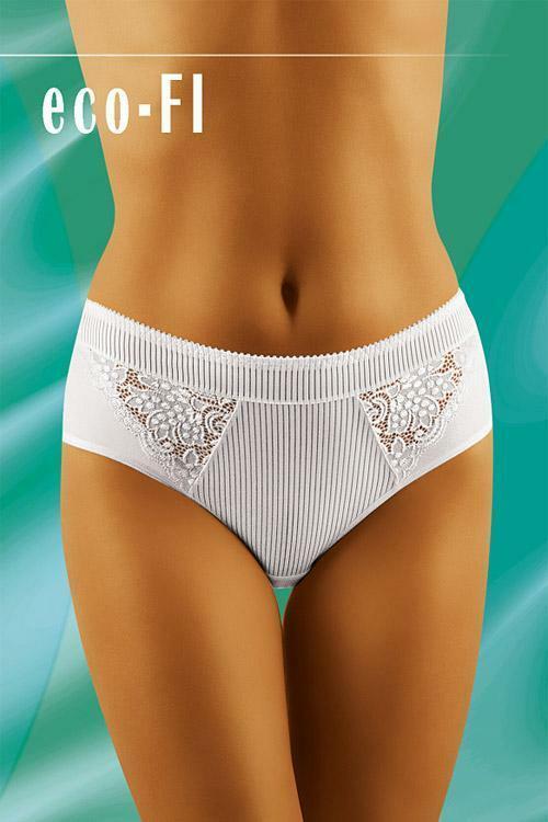Dámské kalhotky eco-FI white - M - bílá