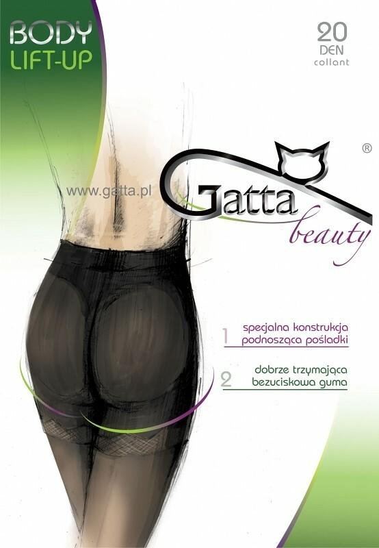 Punčochové kalhoty Gatta Body Lift-up 20 den - 2-S - béžová/odstín béžové