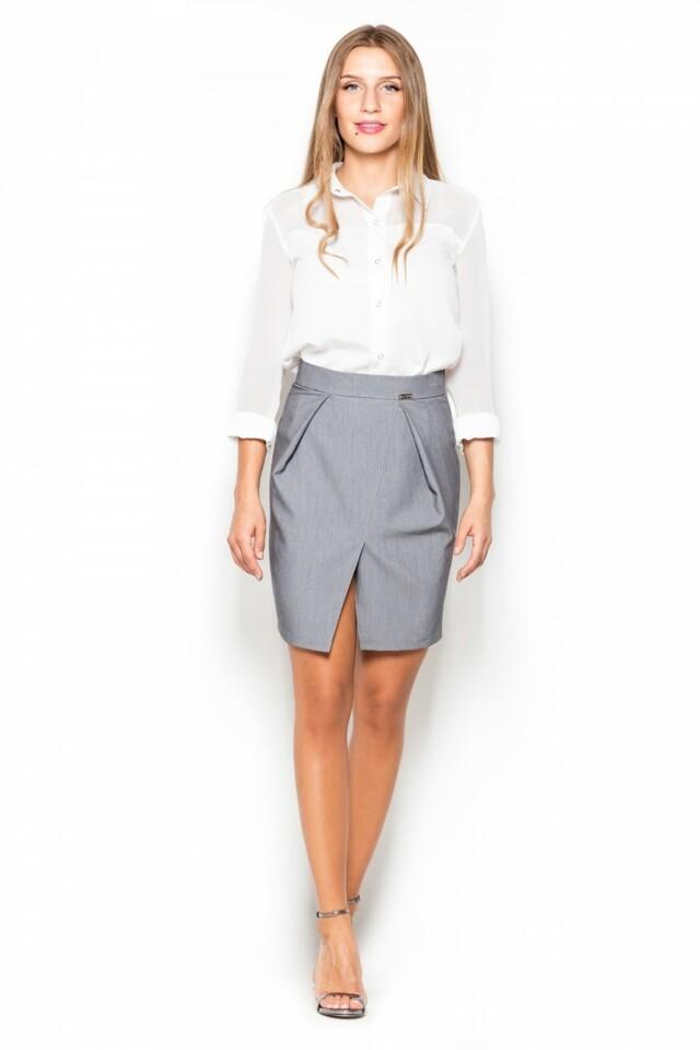 Dámská sukně K389 grey