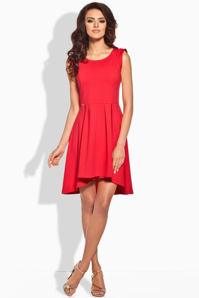 Dámské šaty L127 - Lemoniade - S - červená