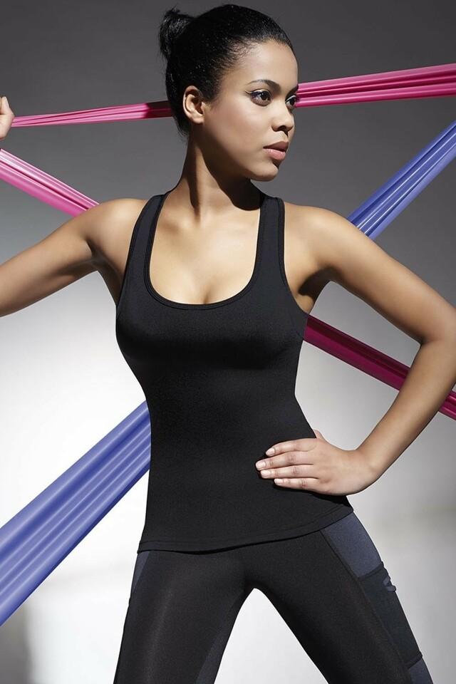 Fitness top Teamtop 70 - M - černá