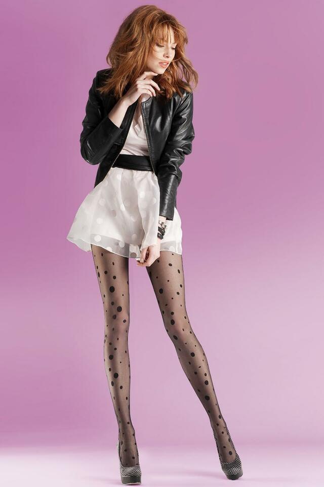 Punčochové kalhoty Gabriella Giny Code 726 - 2-S - nero