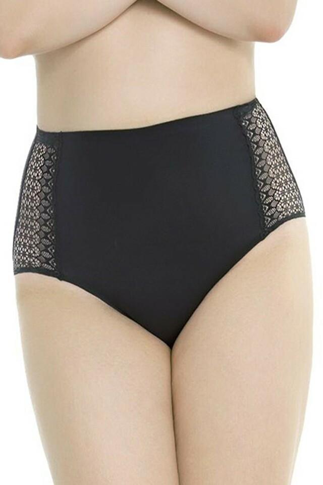 Dámské kalhotky Opal black - 3XL - černá