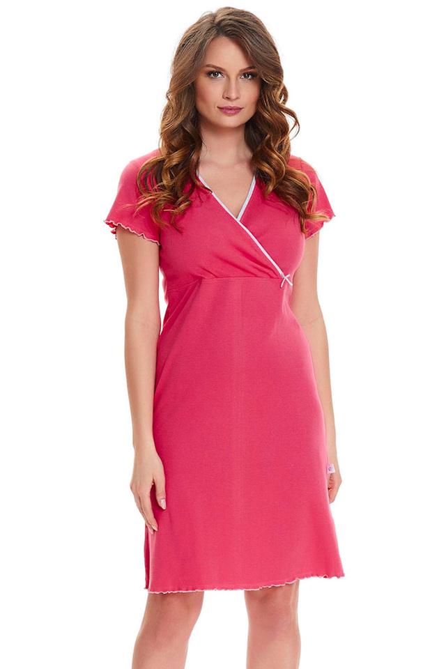 Dámská noční košile Dn-nightwear TCB.1055 - L - vodní meloun