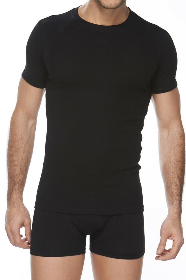Pánské tričko Authentic 202 black
