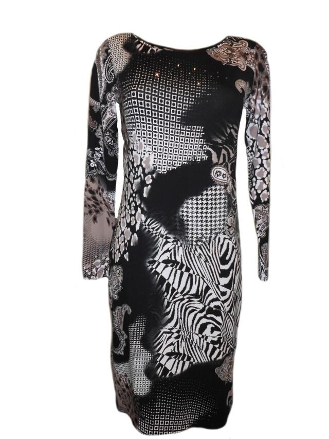 Šaty Marle Vypan DR SW - Favab - M - černo-hnědá