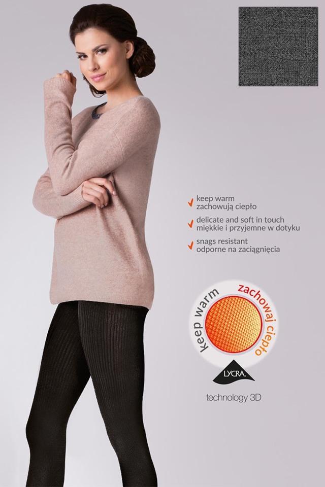 Punčochové kalhoty Gabriella Warm up! Fashion 200 Den code 412