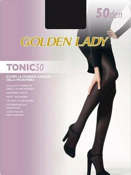 Punčochové kalhoty Tonic 50 den - Golden Lady - 5XL - černá