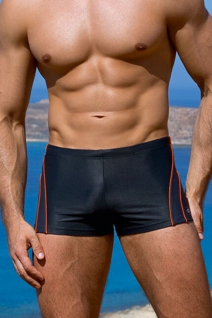 5a57d005eec Pánské plavky boxerky Aldo tmavo sivé - L