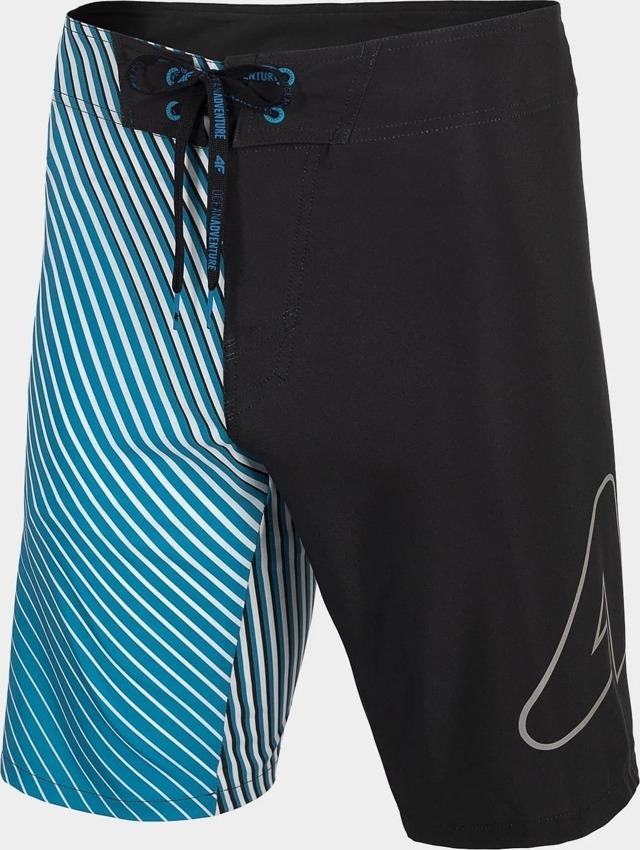 Pánské koupací šortky 4F SKMT004 Modré - L - Modrá