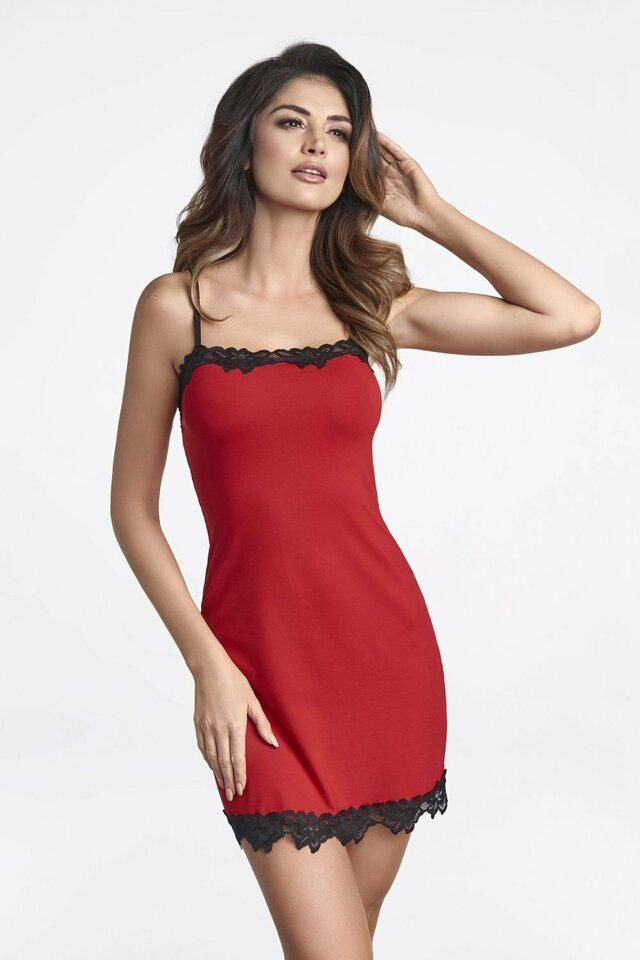 Dámská košilka Sisi red - XL - červená