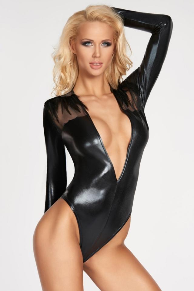 Erotické body Rioja - M - černá