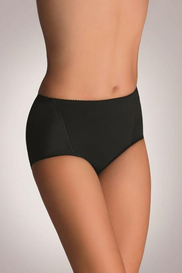 Stahovací kalhotky Velvet black - L - černá