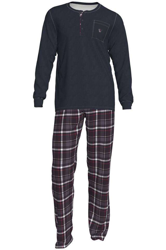 Pánské pyžamo Romeo 00-15-2828-298 - Vamp - L - šedá