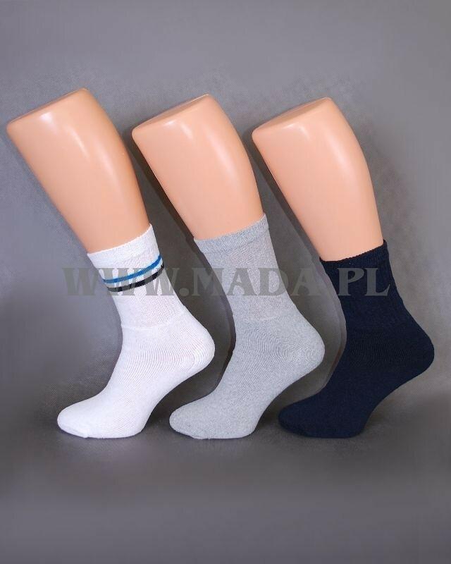 Ponožky E&E 024 A'5 - 35-38 - tmavě modrá