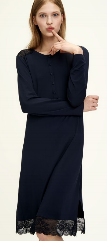 Dámská noční košile LA1859 - Noidinotte - M - starorůžová