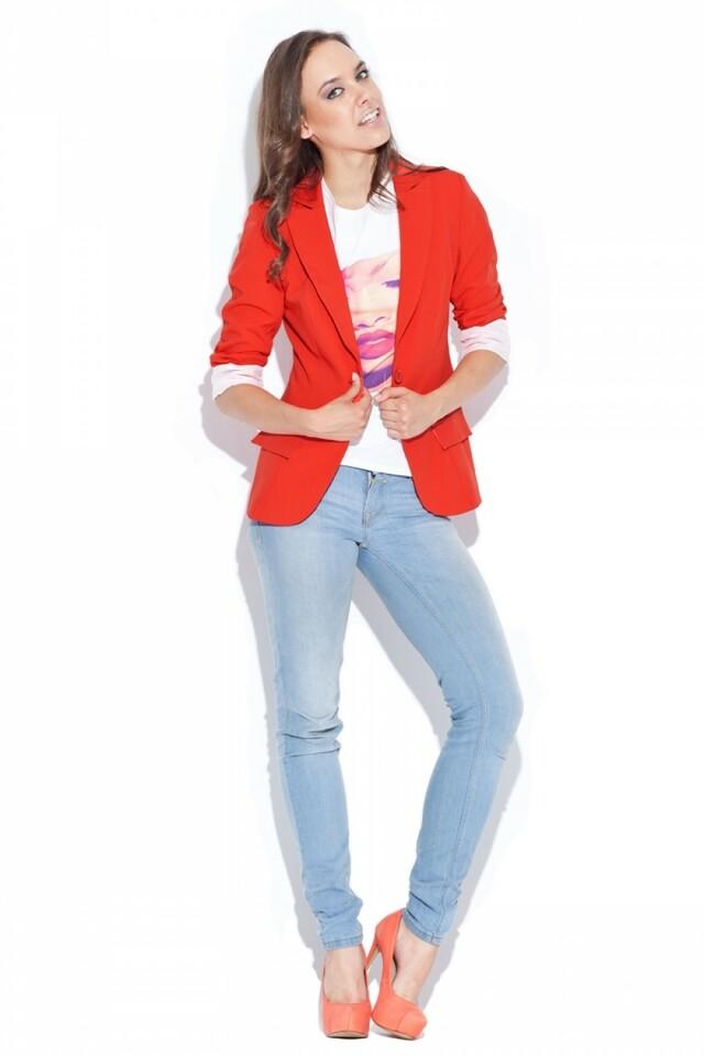 Dámské sako K013 red