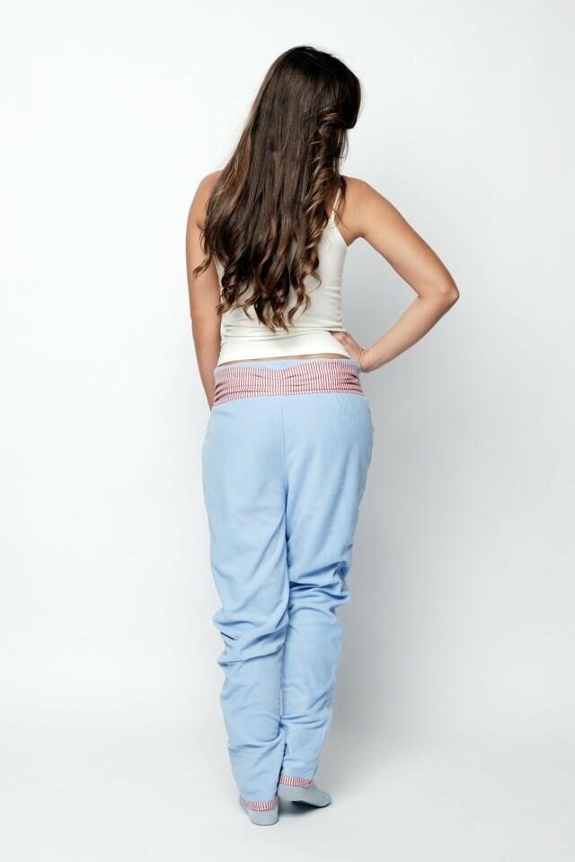 Tepláky Parisian Blue - Lull Homewear - L - modrá