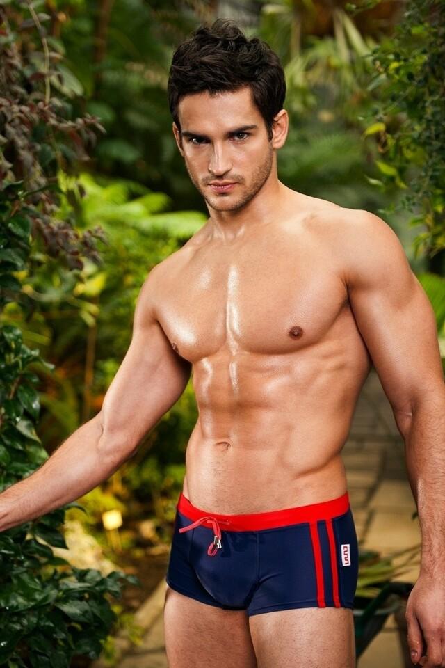 Alpha Male boxerkové plavky Sacco dusk - S