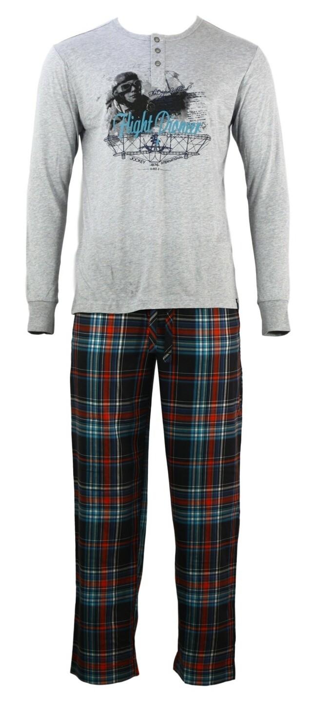 Pánské pyžamo 52227 - Jockey - L - kostka