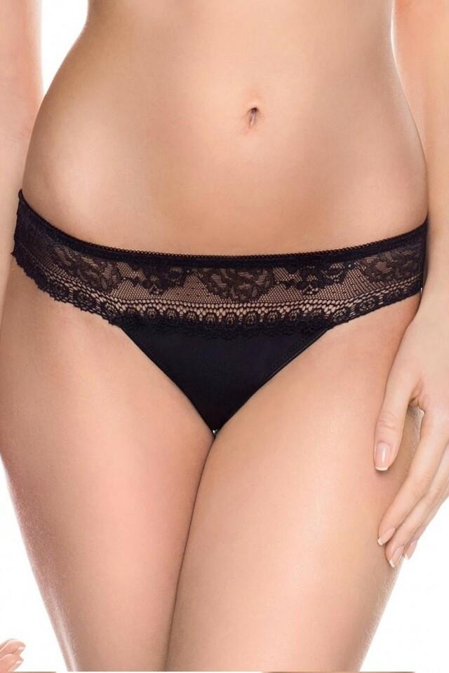 Dámské kalhotky 35236 black - M - černá