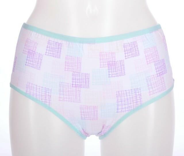 Dámské kalhotky Anastázie - lila XL
