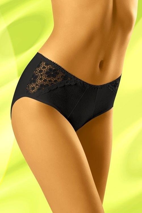 Dámské kalhotky eco-Nu black - XL - černá